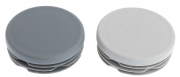 Standard Round Ribbed Inserts - Mid and Dark Grey